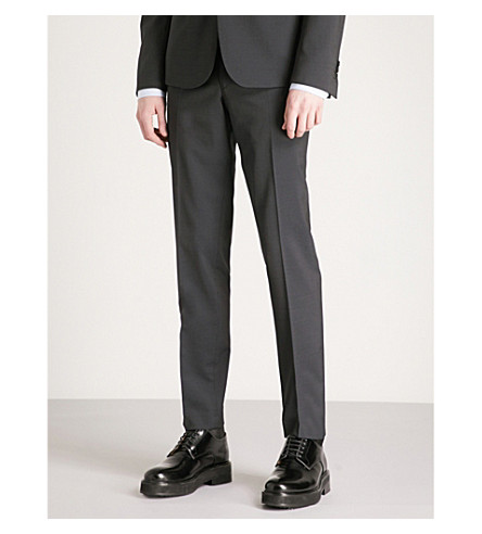 THE KOOPLES Skinny wool trousers (Nav03