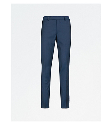 THE KOOPLES Tapered wool trousers (Blu20