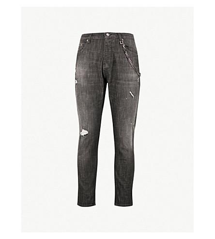 THE KOOPLES Straight regular-fit denim jeans (Bla55