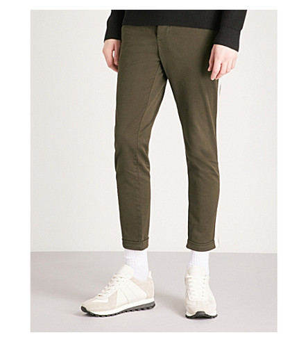 THE KOOPLES Slim-fit stretch-cotton chinos (Kak01
