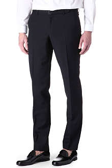 THE KOOPLES Navy belted suit trousers