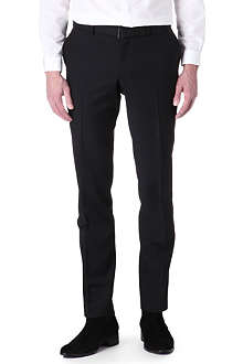 THE KOOPLES Black fitted suit trousers