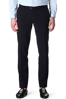 THE KOOPLES Wool seersucker-weave suit trousers