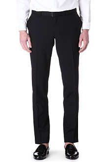 THE KOOPLES Black wool suit trousers