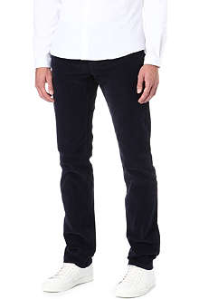 THE KOOPLES SPORT Regular-fit straight-leg corduroy trousers