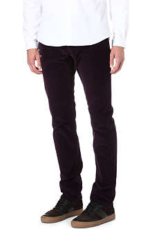 THE KOOPLES SPORT Regular-cut velvet jeans