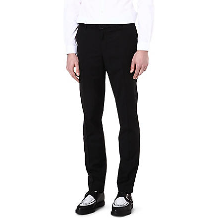 THE KOOPLES Super 130s suit trousers (Black