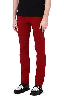 THE KOOPLES Coloured regular-fit tapered jeans