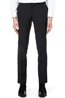 THE KOOPLES Twill-trimmed wool suit trousers