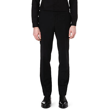 THE KOOPLES Dinner trousers (Black