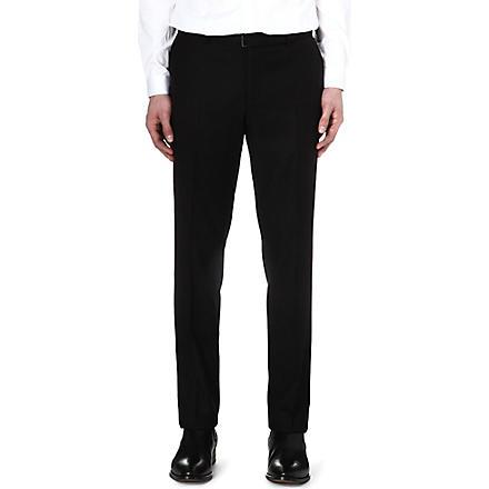 THE KOOPLES Super 100s suit trousers (Black