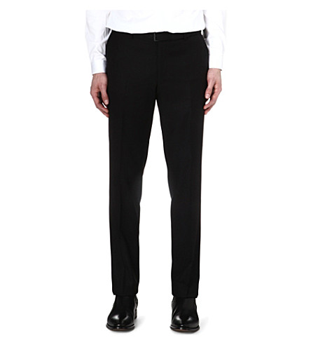 THE KOOPLES Super 100s suit trousers (Black