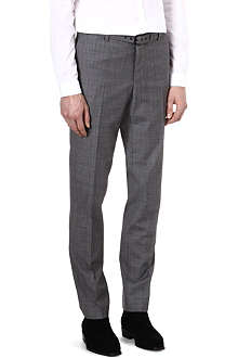 THE KOOPLES Prince of Wales wool suit trousers