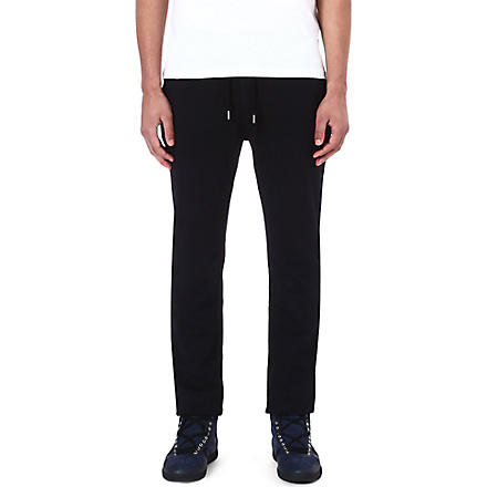 THE KOOPLES SPORT Punk cotton jogging bottoms (Black