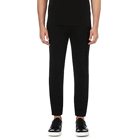 THE KOOPLES SPORT Branded jogging bottoms (Black