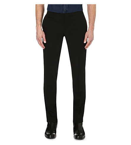 THE KOOPLES Slim-fit trousers (Black