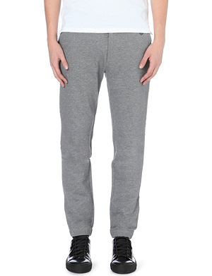 THE KOOPLES SPORT Raw-waistband cotton-jersey jogging bottoms