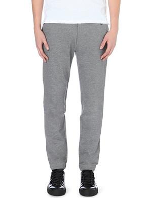 THE KOOPLES SPORT Raw-waistband cotton-jersey jogging bottoms