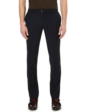 THE KOOPLES Regular-fit belted trousers
