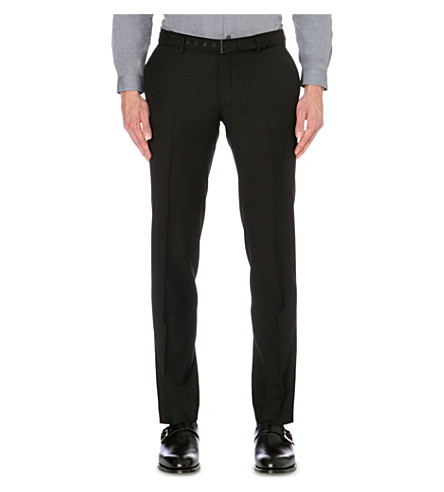 THE KOOPLES Slim-fit tapered trousers (Black