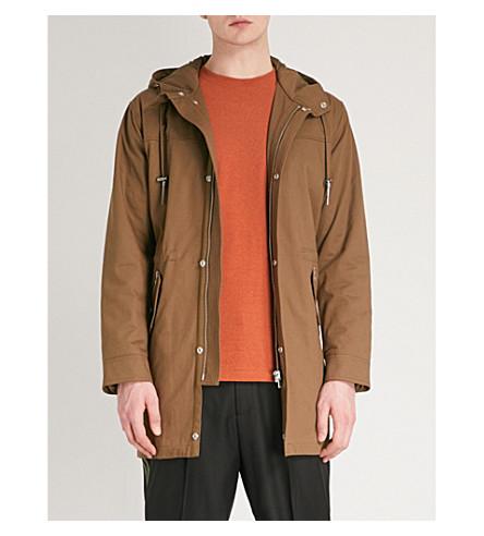 THE KOOPLES Hooded cotton-gabardine parka coat (Cam01