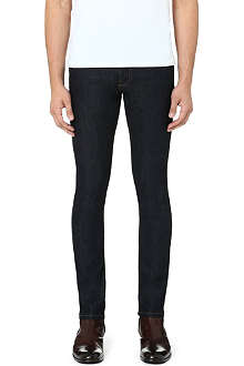 THE KOOPLES Stretch-denim skinny-fit tapered jeans