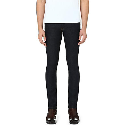 THE KOOPLES Stretch-denim skinny-fit tapered jeans (Blue