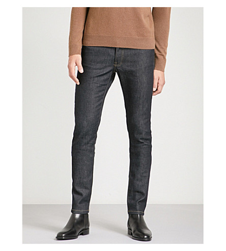 THE KOOPLES Slim-fit stretch-denim jeans (Blue+brut