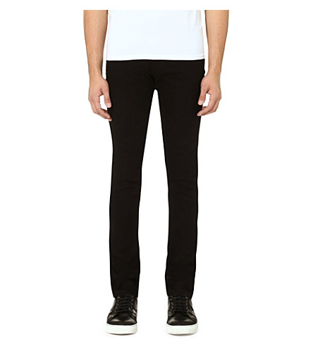 THE KOOPLES SPORT Slim-fit straight jeans (Black