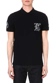 THE KOOPLES Biker-style polo shirt