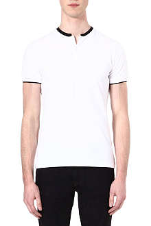 THE KOOPLES Stand-collar polo shirt