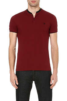 THE KOOPLES Contrast-collar polo shirt