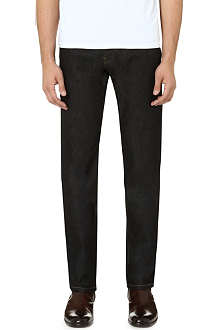 THE KOOPLES Stretch-denim regular-fit straight jeans