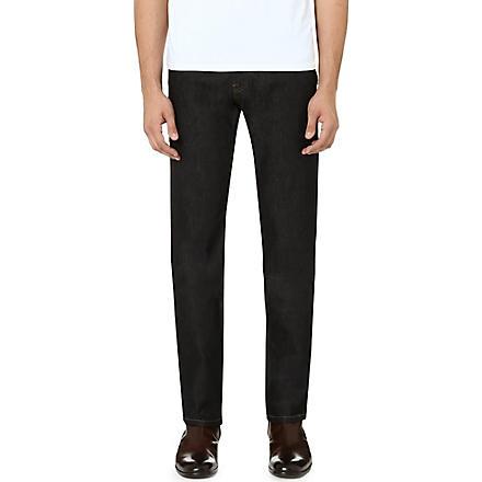 THE KOOPLES Stretch-denim regular-fit straight jeans (Blue