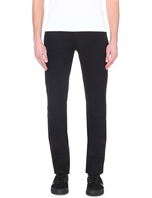 THE KOOPLES SPORT Mid-rise straight-leg jeans