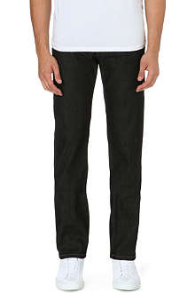 THE KOOPLES SPORT Slim-fit straight leg stretch-denim jeans