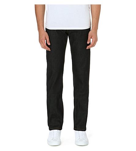 THE KOOPLES SPORT Slim-fit straight leg stretch-denim jeans (Blue