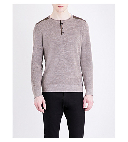 THE KOOPLES SPORT Crewneck cotton jumper (Bei01