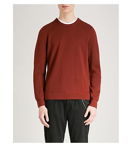 THE KOOPLES Zipped wool-blend jumper (Ora17