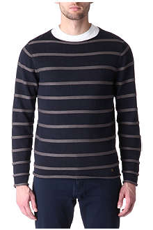 THE KOOPLES Knitted-stripe jumper