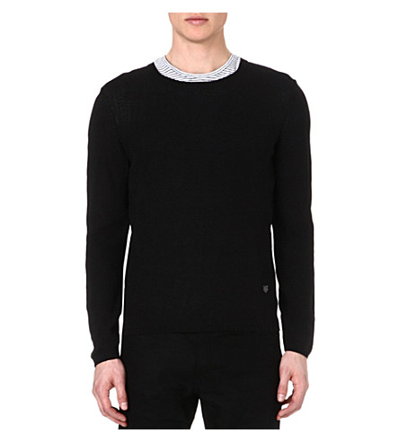 THE KOOPLES Fine-knit jumper (Black