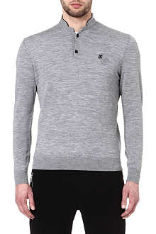 THE KOOPLES SPORT Merino wool polo-neck jumper