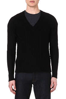 THE KOOPLES Cable-knit jumper