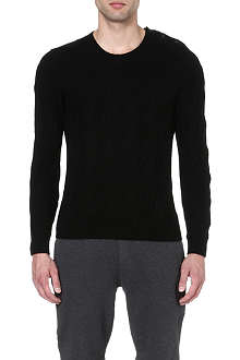 THE KOOPLES SPORT Cable-knit jumper