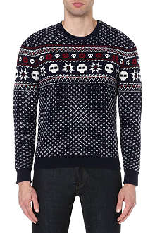 THE KOOPLES SPORT Fair Isle jumper