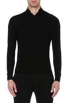 THE KOOPLES SPORT Embroidered black sweater