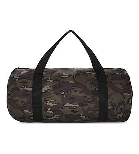 THE KOOPLES Camouflage nylon yoga bag (Grn26