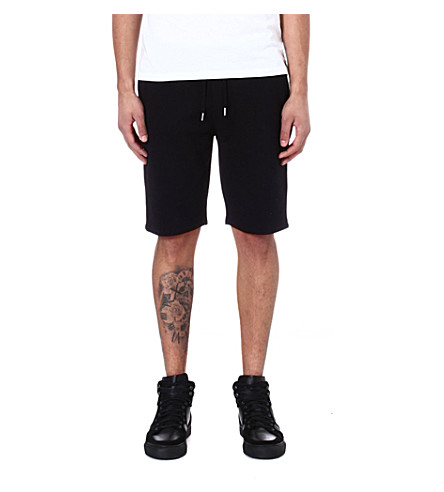 THE KOOPLES SPORT Flannel Bermuda shorts (Black