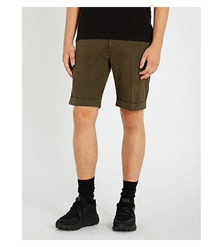 THE KOOPLES Drawstring cotton shorts (Oli01