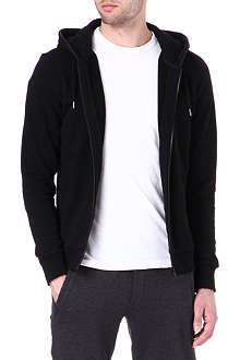 THE KOOPLES SPORT Crest-detail zip-up hoody